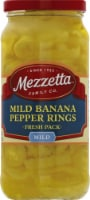 Mezzetta Deli-Sliced Mild Pepper Rings