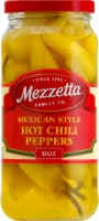 Mezzetta Mexican Style Hot Chili Peppers with Carrots & Onions - 16 fl oz