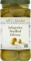 Jeff's Naturals Jalapeno Suffed Olives - 7.5 oz