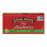 Crown Prince Premium Flat Anchovies In Olive Oil