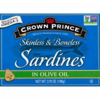 Crown Prince Skinless & Boneless Sardines in Olive Oil