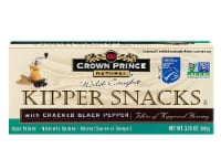 Crown Prince  Natural Kipper Snacks with Cracked Black Pepper