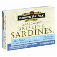 Crown Prince Wild Caught Brisling Sardines