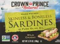 Crown Prince Skinless Boneless Sardines In Olive Oil