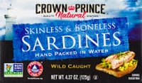 Crown Prince Natural Skinless & Boneless Sardines in Water