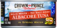 Crown Prince No Salt Added Natural Solid White Albacore Tuna