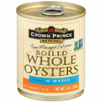 Crown Prince  Boiled Whole Oysters