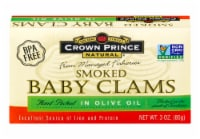 Crown Prince Smoked Baby Claims in Olive Oil