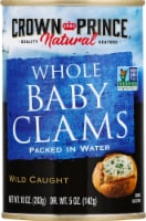 Crown Prince Natural Whole Baby Clams