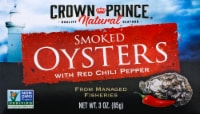 Crown Prince Naturally Smoked Oysters With Red Chili Peppers