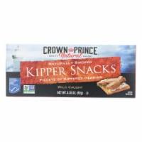 Crown Prince Kipper Snacks - Low In Sodium - Case of 18 - 3.25 oz.