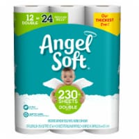 Angel Soft Soft N Gentle Toilet Paper 12 rolls