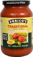 Enricos  Traditional Pasta Sauce No Salt Added
