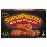 SuperPretzel Original Pretzel Dogs 12 Count