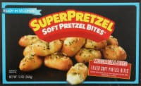 SuperPretzel Soft Pretzel Mozzarella Cheese Bites