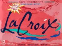 LaCroix Cran-Raspberry Sparkling Water - 12 cans / 12 fl oz