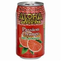 Aloha Maid Natural Passion Orange Drink