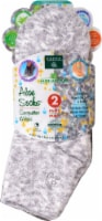 Earth Therapeutics Aloe Grey Spa Socks