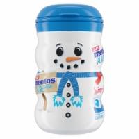 Mentos Fresh Mint Sugar Free Gum Snowman