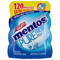 Mentos Pure Fresh Sugar-Free Fresh Mint Gum - 120 ct