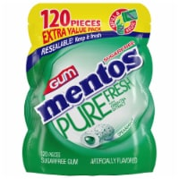 Mentos Pure Fresh Sugar-Free Spearmint Gum