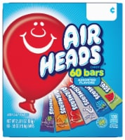 Airheads Individually Wrapped Full Size Candy Bars
