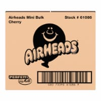 Airheads Red Cherry Flavor Mini Candy Bars - 8 lb