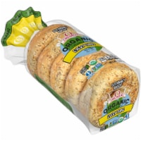 Oroweat Organic Everything Bagels 5 Count