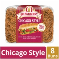 Brownberry Chicago Style Hot Dog Buns 8 Count