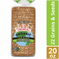 Oroweat Organic Thin Sliced 22 Gains & Seeds Bread