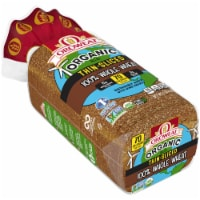 Oroweat Organic Thin Sliced Whole Wheat Bread
