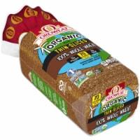 Oroweat® Organic Thin-Sliced Whole Wheat Bread - 20 oz
