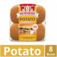 Brownberry Country Potato Sandwich Buns 8 Count