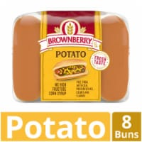 Brownberry Country Potato Hot Dog Buns 8 Count