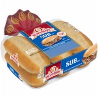 Brownberry Sub Sandwich Rolls 6 Count