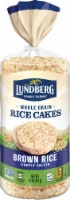 Lundberg Organic Lightly Salted Brown Rice Cakes