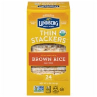 Lundberg Organic Brown Rice Puffed Grain Cakes