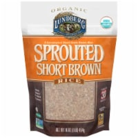 Lundberg Organic Sprouted Short Brown Rice - 16 oz