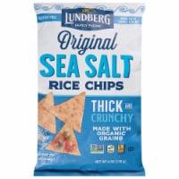 Lundberg Gluten Free Sea Salt Rice Chips - 6 oz
