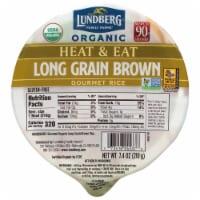 Lundberg Organic Long Grain Brown Rice Bowl - 7.4 OZ