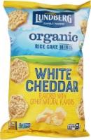 Lundberg Family Farms Organic Gluten-Free White Cheddar Rice Cake Minis - 5 oz