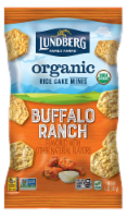 Lundberg Family Farms Organic Gluten-Free Buffalo Ranch Rice Cake Minis