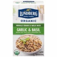 Lundberg Organic Garlic & Basil Whole Grain Rice & Wild Rice Seasoning Mix