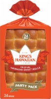 King's Hawaiian Original Hawaiian Sweet Rolls Party Pack 24 Count