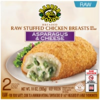 Barber Foods Breaded Raw Asparagus & Cheese Stuffed Chicken Breasts 2 Count