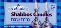 Yehuda Sabbath White Candles