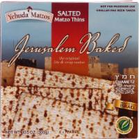 Yehuda Lite Salted Thin Matzo