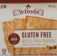 Yehuda Gluten Free Toasted Onion Matzo Squares
