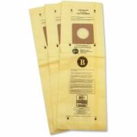 Hoover TaskVac Type-B Allergen Bags - 3 / Pack - Type B - White