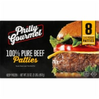 Philly Gourmet Beef Patties